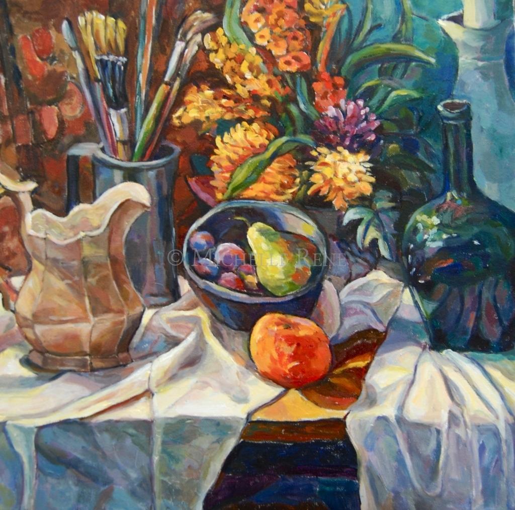 michelle rene beautiful oil paintings
